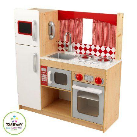 Amazon.com : Kidkraft Suite Elite Kitchen : Toy Kitchen Sets ...