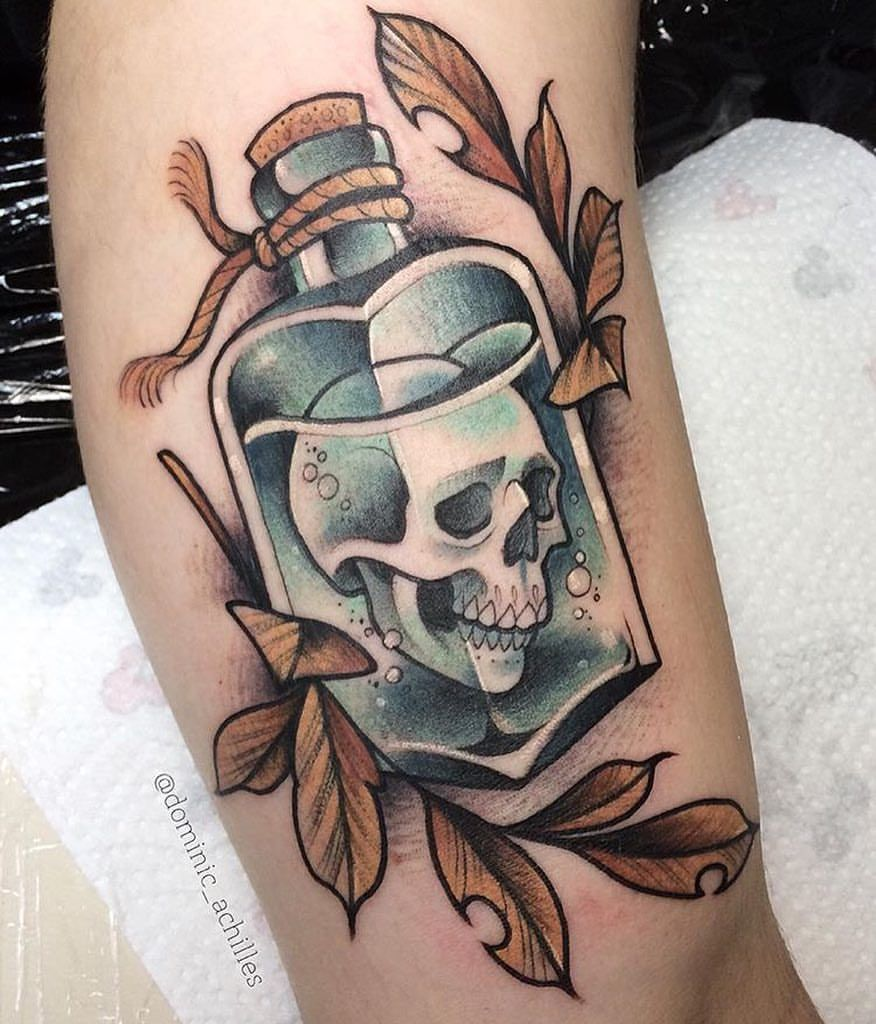 Neo Traditional Europe On Instagram Great Work By Dominic Achilles Location Germany For Shares Ta Pirate Tattoo Traditional Tattoo Style Art Pirate Tattoo