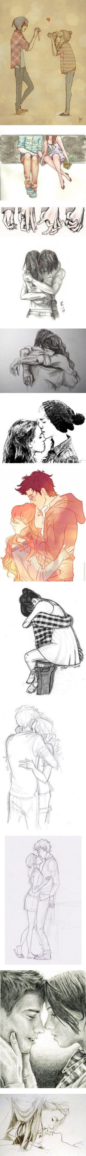 """Drawing LOVE!! 3"":"