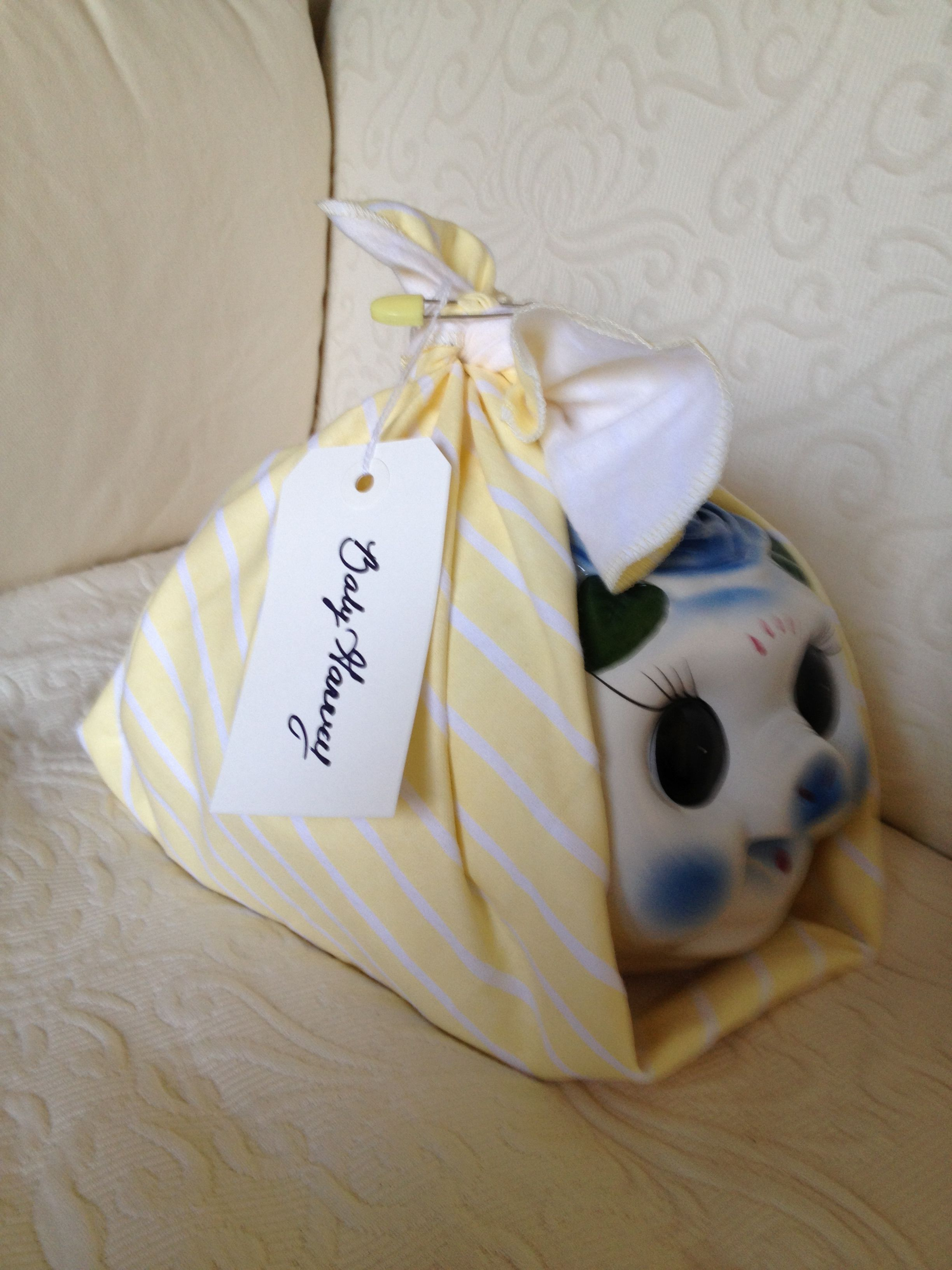 A Piggy Bank Baby Shower Gift Wrap The Bank In A