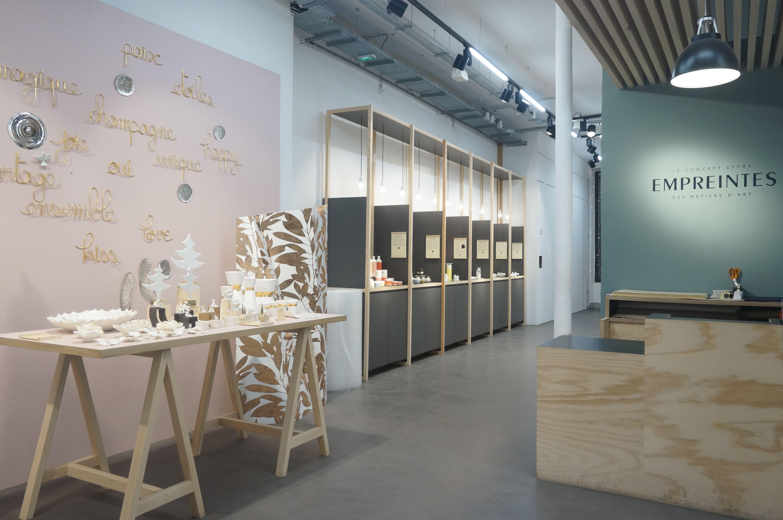 empreintes paris le concept store des m tiers d art o. Black Bedroom Furniture Sets. Home Design Ideas