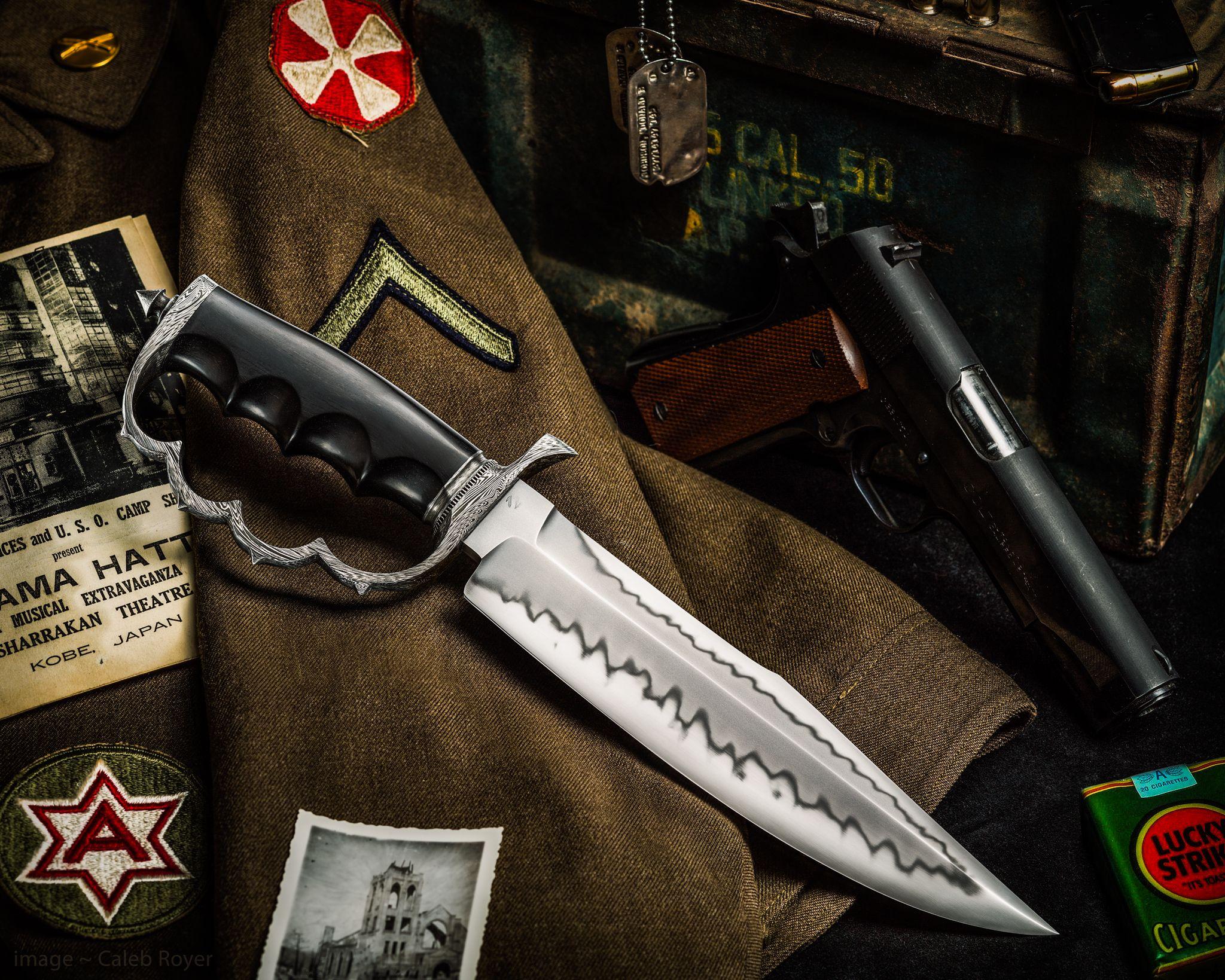 Trench Knife Maker Sam Lurquin Js Website Samuel