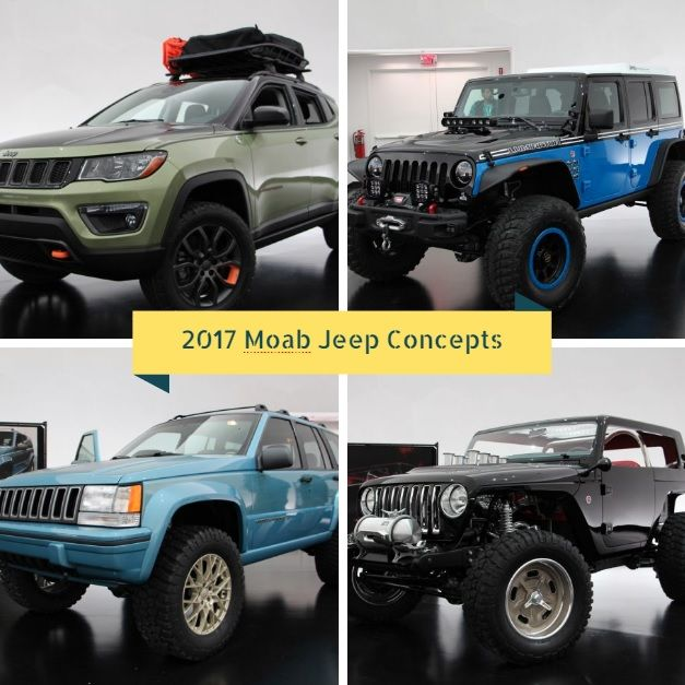 2017 Moab Jeep Concepts Revealed