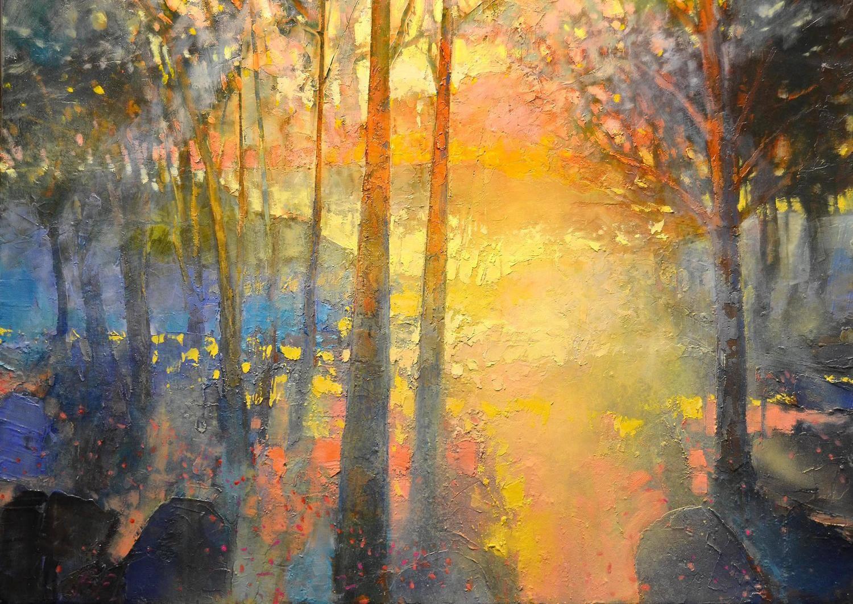 Mark Gould A Path To Walk Arcadian 2048 1stdibs Com Landscape Paintings Landscape Artwork Fine Art