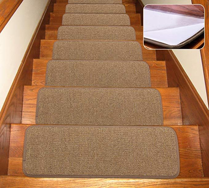 Best Seloom Stair Treads Carpet Non Slip With Skid Resistant 640 x 480
