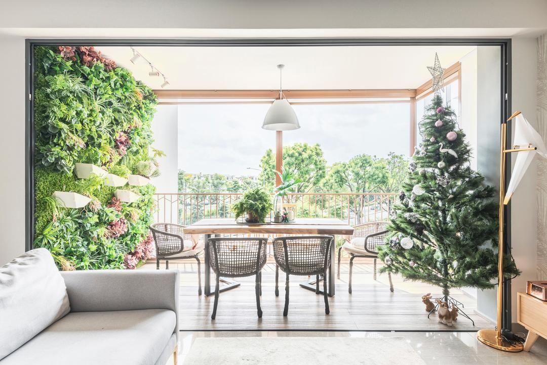 10 Singapore Homes That Show How Useful A Balcony Can Be In 2020 Balcony Design Condo Interior Interior Design Singapore