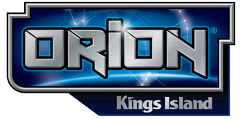 Orion Kings Island Logo Kings Island Orion Island