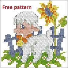 Resultado de imagen para free cross stitch pendant patterns
