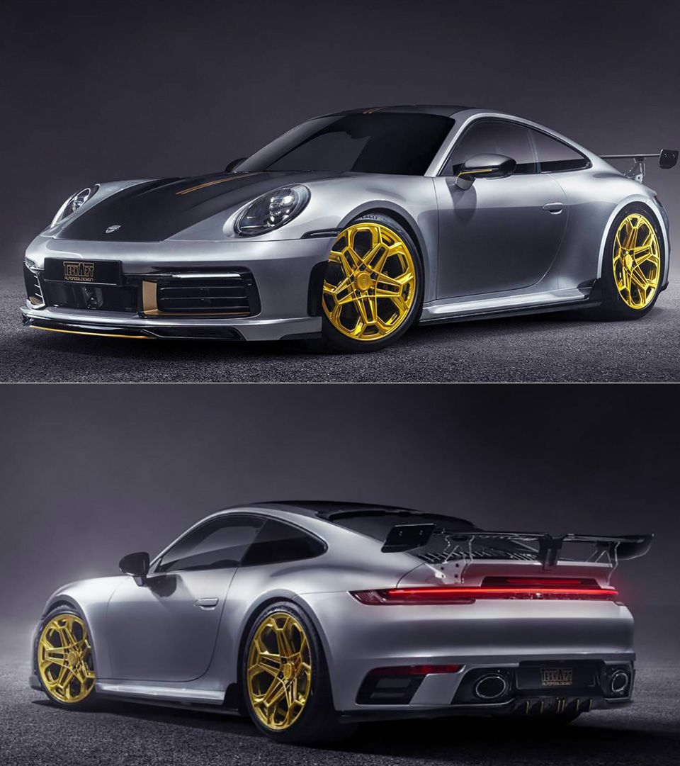 Techart Gives 2020 Porsche 911 Carrera 4s A Sporty Makeover Porsche 911 Carrera 4s Porsche 911 Carrera 911 Carrera 4s