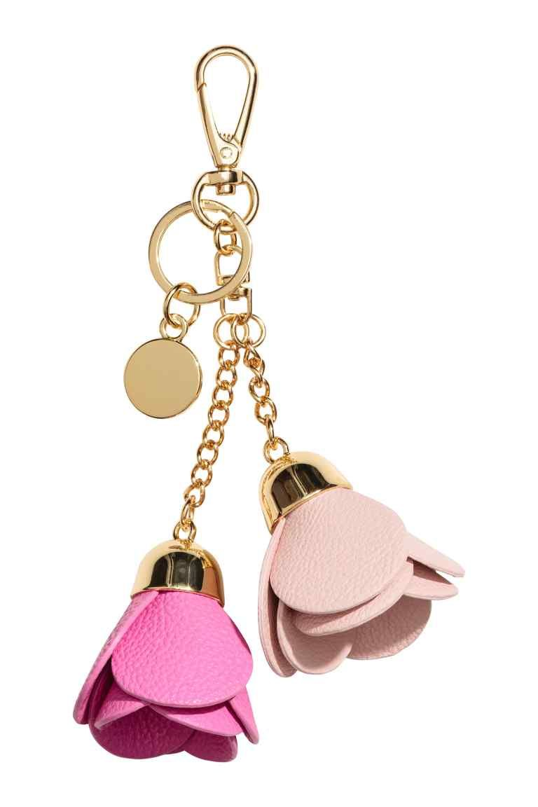 Vivienne Westwood Key Chain for Women, Key Ring, Nude Pink, Metal, 2017, One size