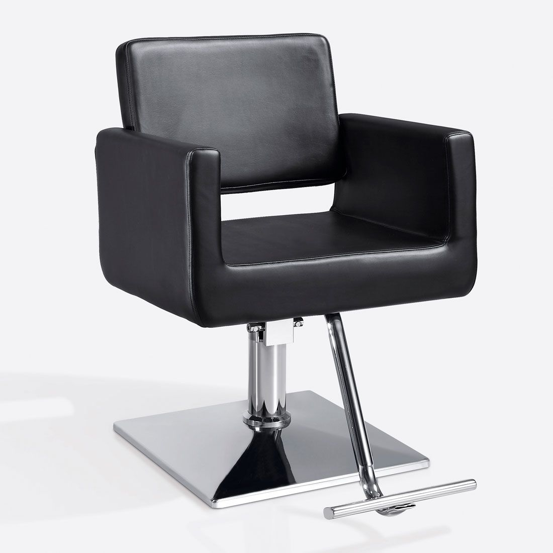 White hair salon chairs - Salon Chair For Hairstyling