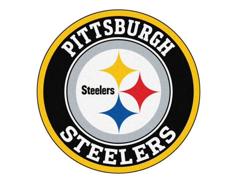 pittsburgh steelers logo all logos world pinterest pittsburgh rh pinterest com Steelers Logo Drawing Black and White Steelers Logo