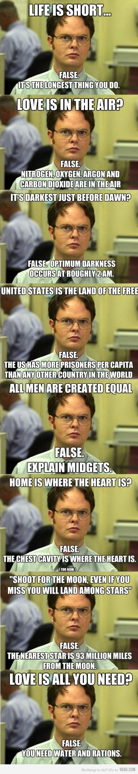 Dwight rules! Things that make you Laugh Funny, Funny