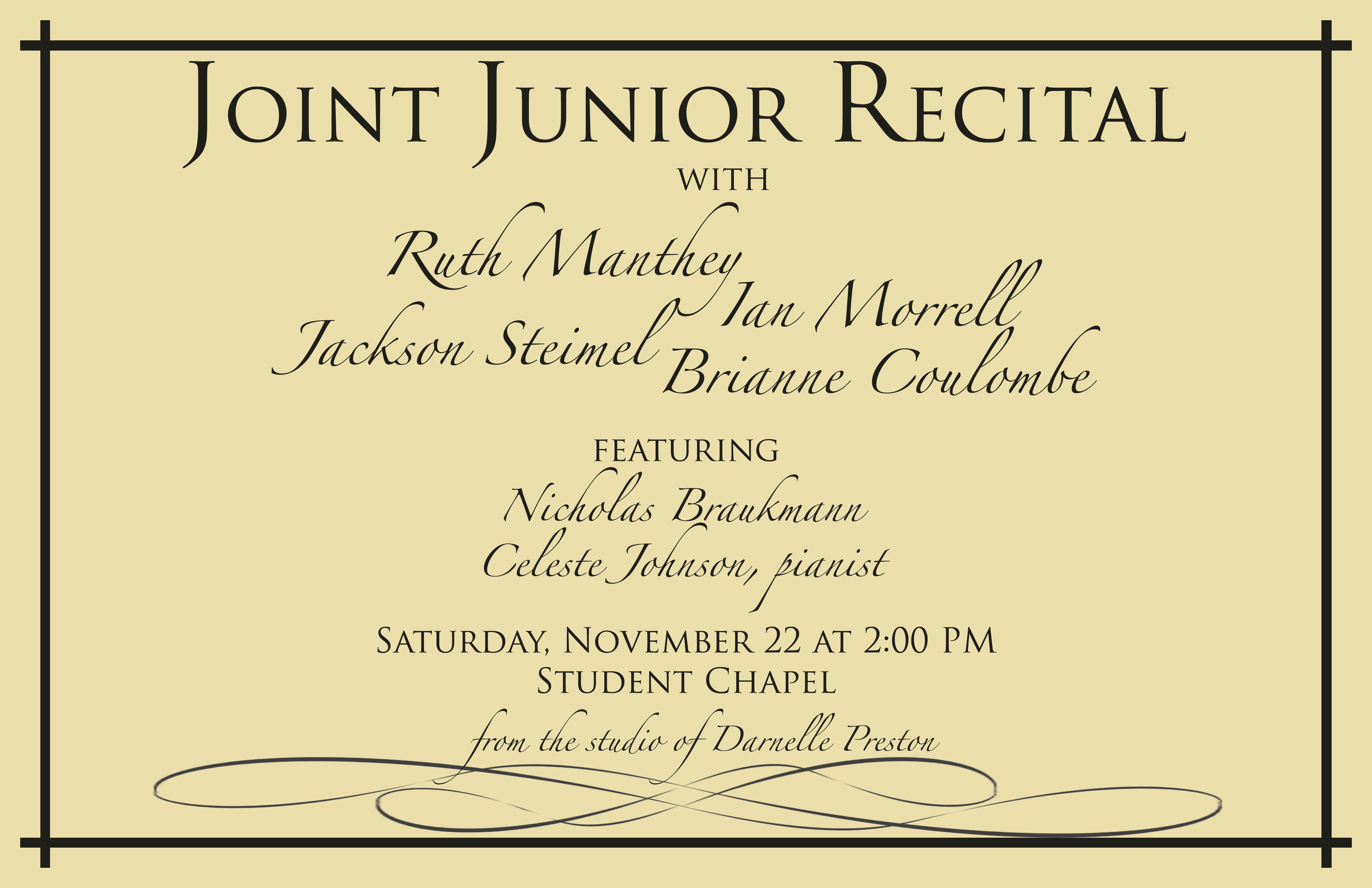 Darnelle Preston S Students Shine Student Pianist Recital