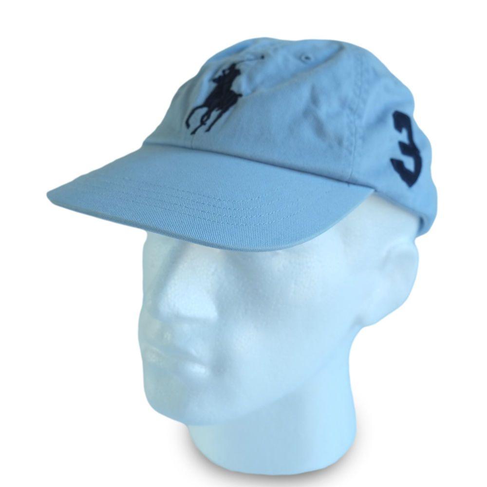 Polo Ralph Lauren Big Pony Baseball Cap Hat Light Blue Men Women Special Price Blue Man Pony Baseball Polo Ralph Lauren