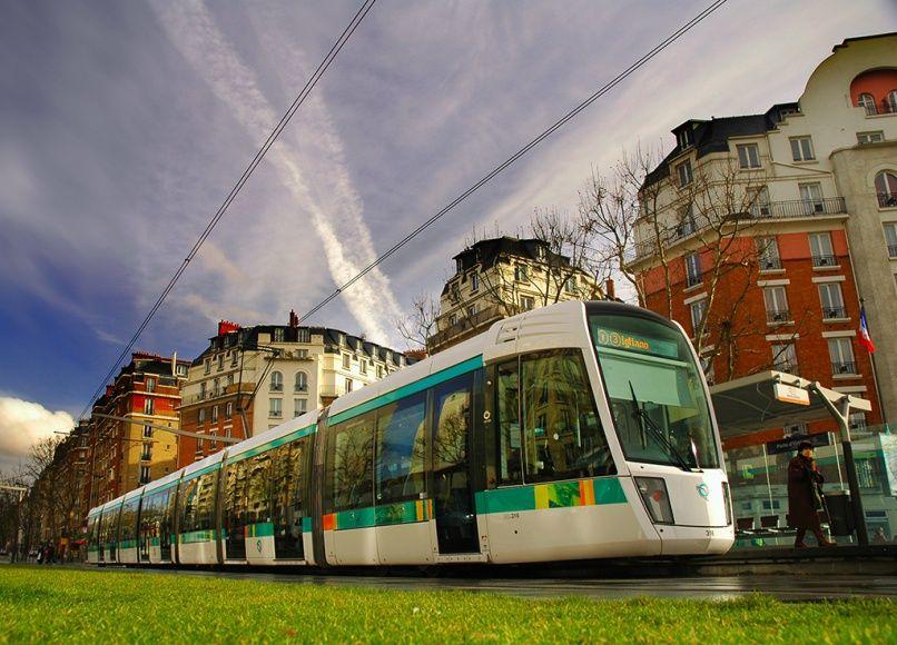 Alstom & RATP - Tram de Paris - France Ligne 3 du tramway de