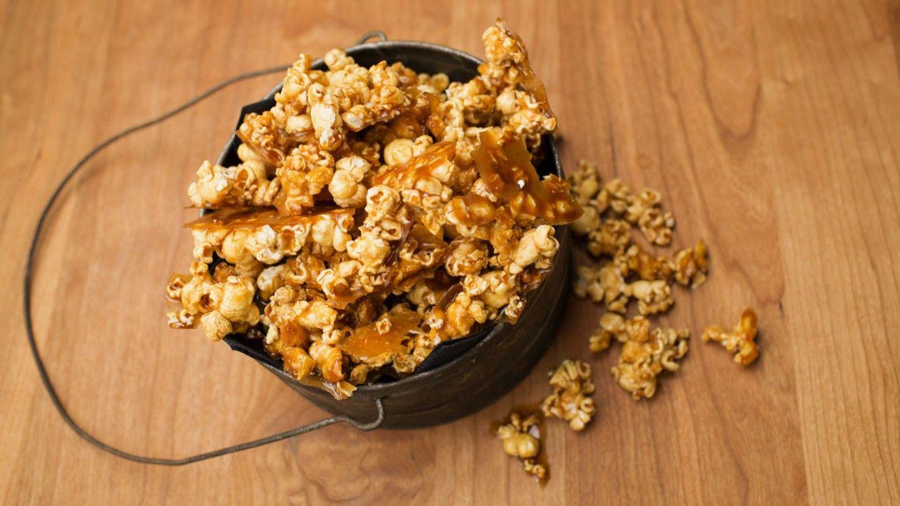 Popcorn au caramel à l'érable