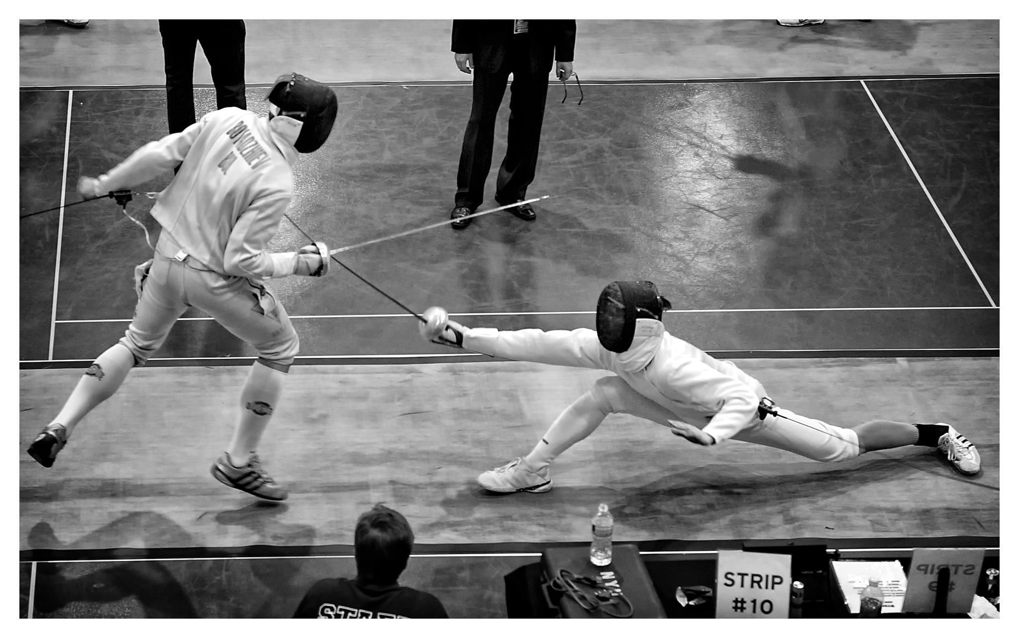 Fencing Incredible Lunge Photo By Admir Hadzic Chess