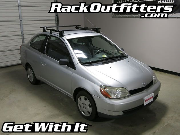 Toyota Echo Yakima Q Tower Round Bar Roof Rack 00 05 Toyota Echo Roof Rack Yakima