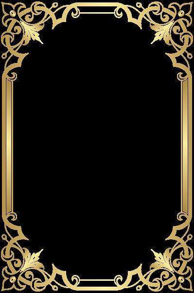 Border Frame Transparent Clip Art | рамки, фон | Pinterest | Frame ...
