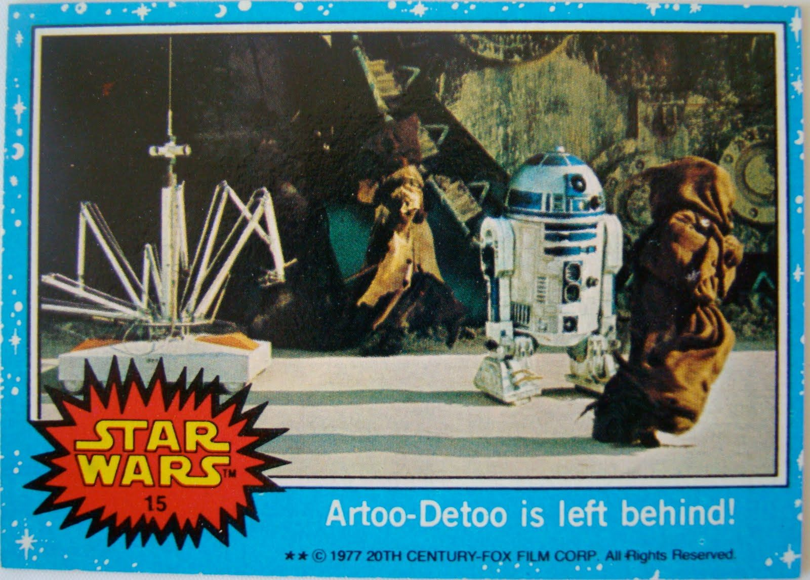 star wars 1977 trading cards - Google Search