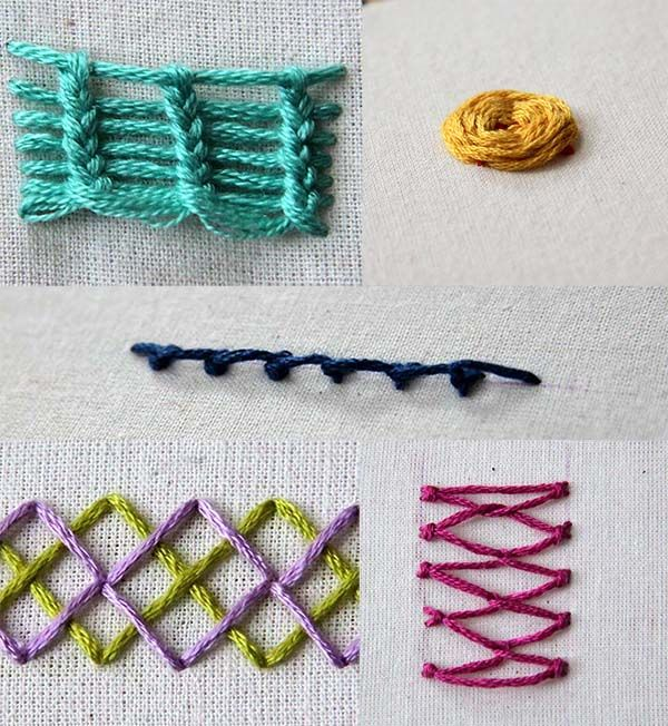 The Top 10 Hand Embroidery Stitches Every Beginner Should