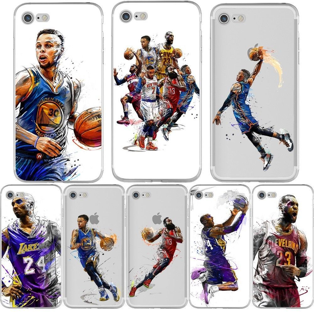 Basketball Nba James Kobe Case Cover For Iphone 5Sse 6 6S