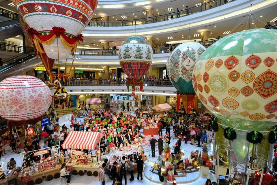2013 Top Christmas Mall Decorations In Malaysia