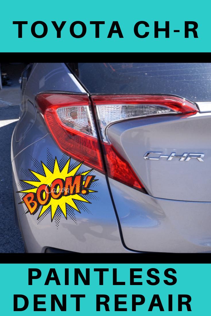 This Video Shows You How I Repair Dents On Doors Repair Dent Repair Toyota