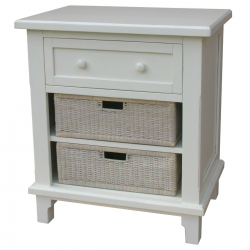 Chesapeake Hand Painted Cottage Style Night Stand