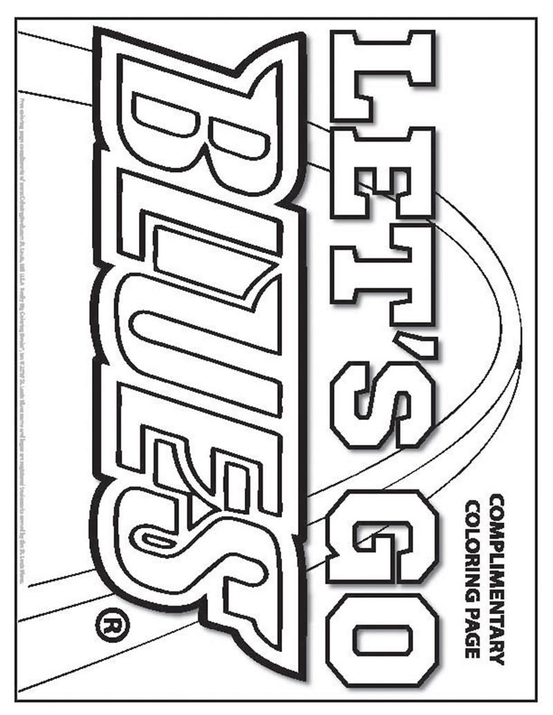 Coloring Books St Louis Blues Playoffs Free Online Coloring Page Free Online Coloring Online Coloring Pages Coloring Pages