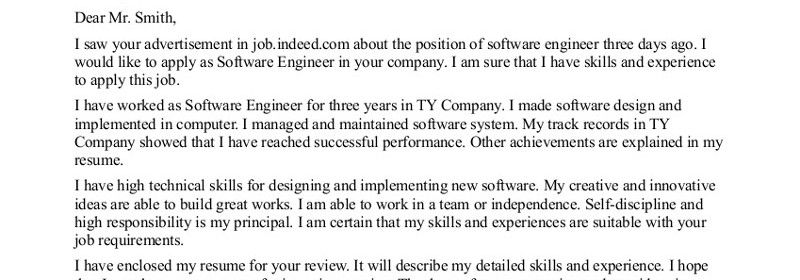 Good Cover Letter Examples For Engineers  Letter Examples