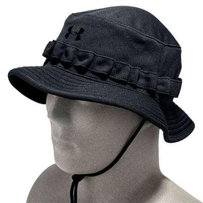 a0b30d38139 Under Armour Hats  Men s Black Tactical HeatGear Bucket Hat 1219730 ...