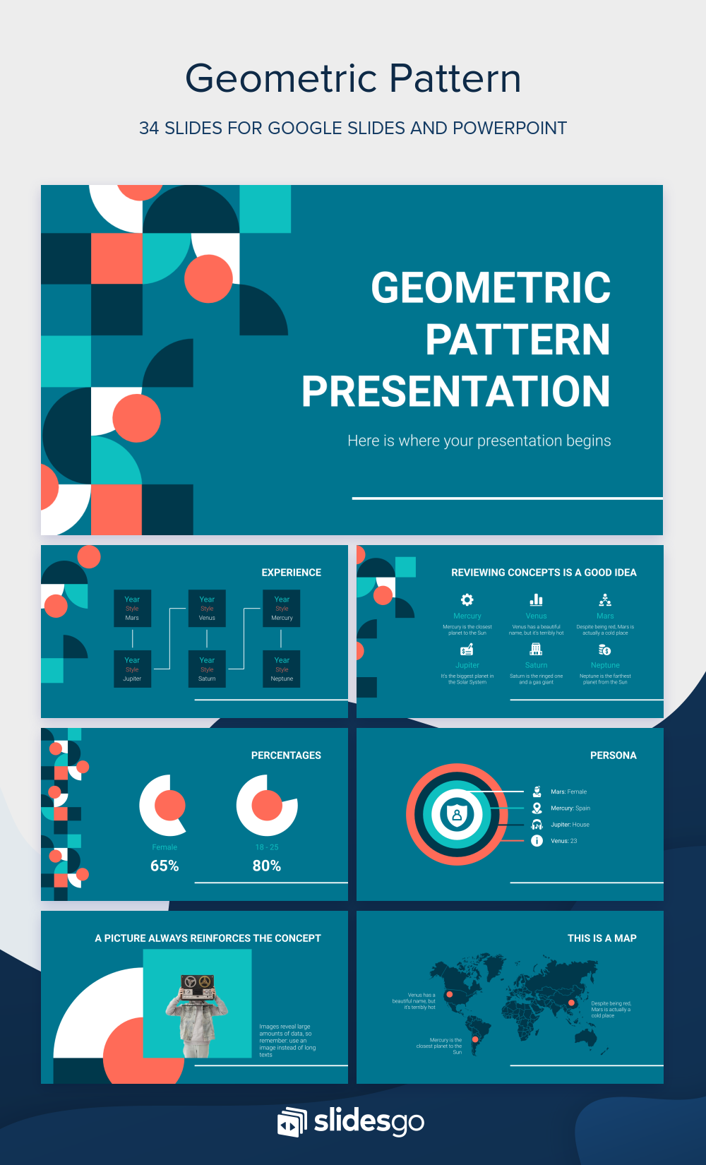 Edit This Modern Template With Geometric Patterns Download It As Google Slides Theme And Powerpoint Template 100 Free Geometric Pattern Powerpoint Geometric