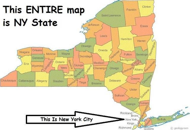 Map Of Upper State New York.10 New York State Stereotypes That Are Completely Accurate Travel
