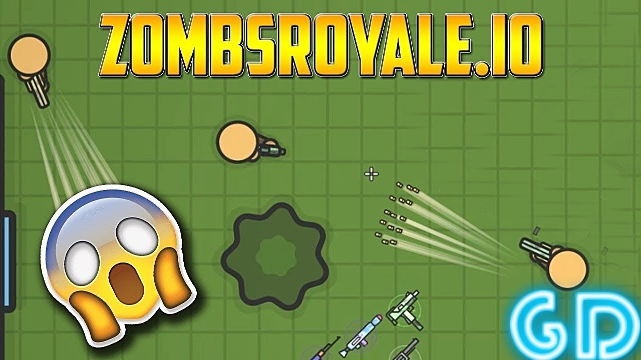 ZombsRoyale io - 2D Battle Royale Gameplay Android & iOS PvP