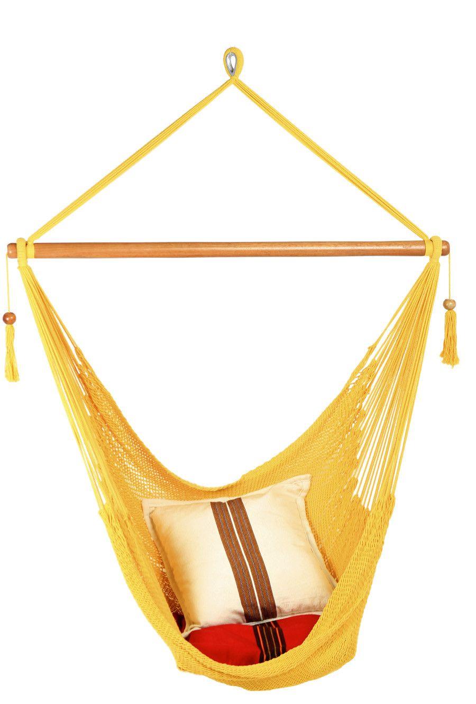 Hammock chair yellow from the stylish camping company hammocks