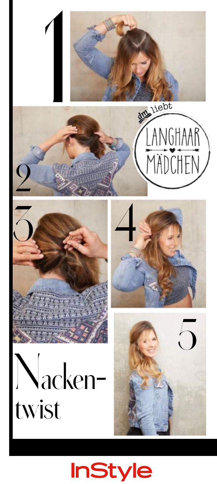 9 Frisuren, die aufwendiger aussehen als sie sind  Haare mädchen