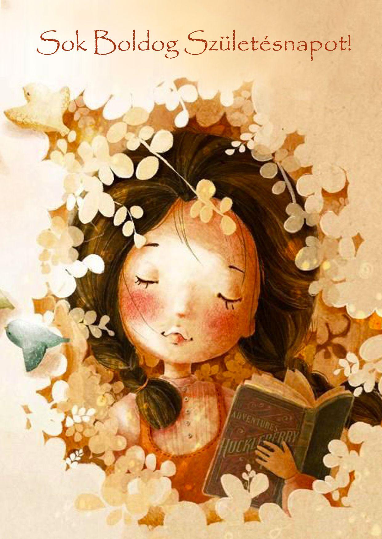 boldog születésnapot képek lányoknak Sok Boldog Születésnapot!   .leplap.hu | Képeslapok | Pinterest boldog születésnapot képek lányoknak