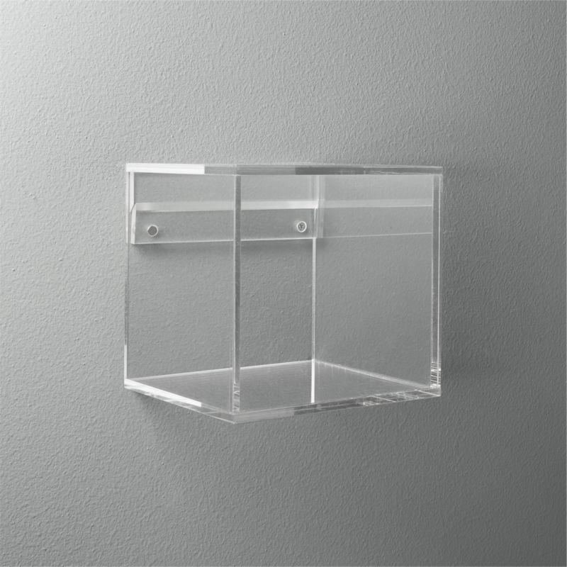 """Clear 12/"""" X 12/"""" Tempered Glass for Display Cubes"""