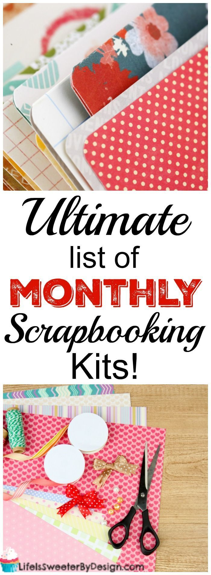 Scrapbook Monthly Kit Clubs In The Ultimate List Find Out All About