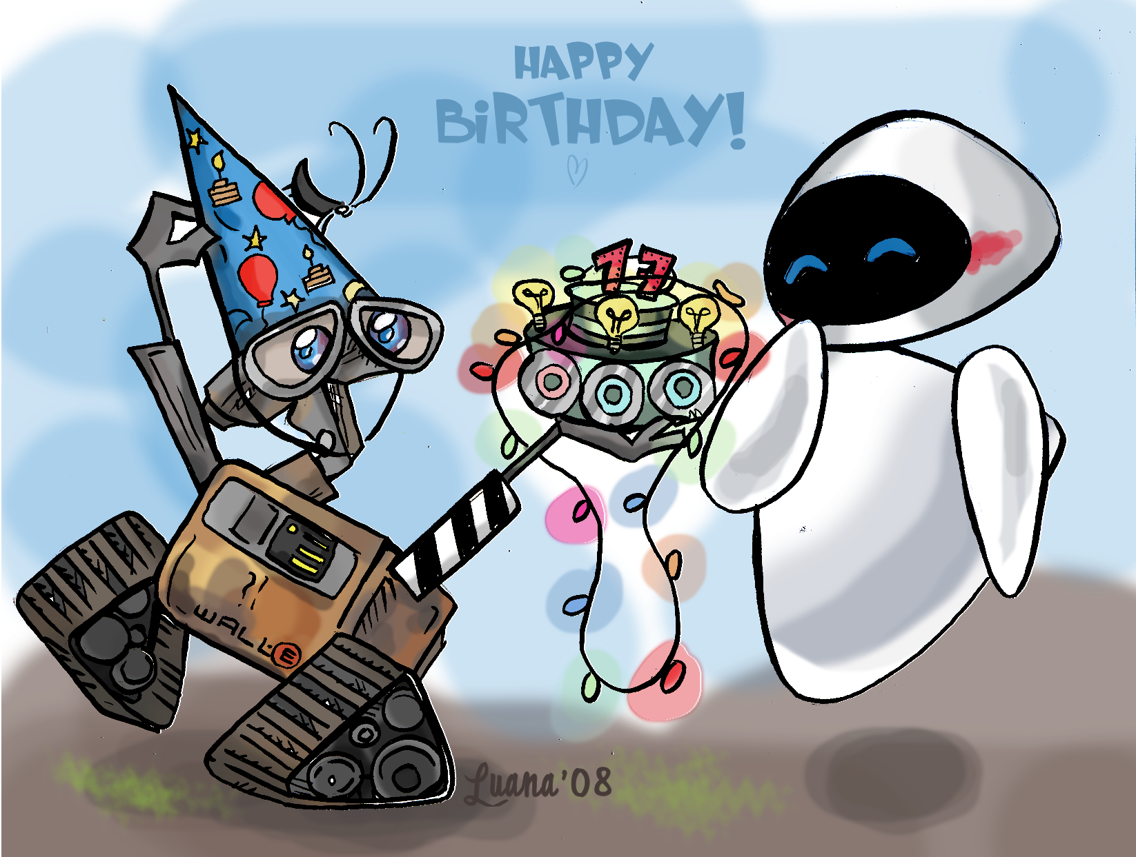 Happy Birthday Wall E