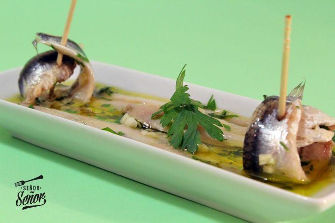 Como Cocinar Boquerones | Receta Boquerones Vinagre Tapas Y Aperitivos Pinterest