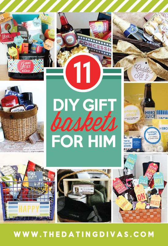 101 DIY Christmas Gifts for Him | Basket ideas, Boyfriends and Gift
