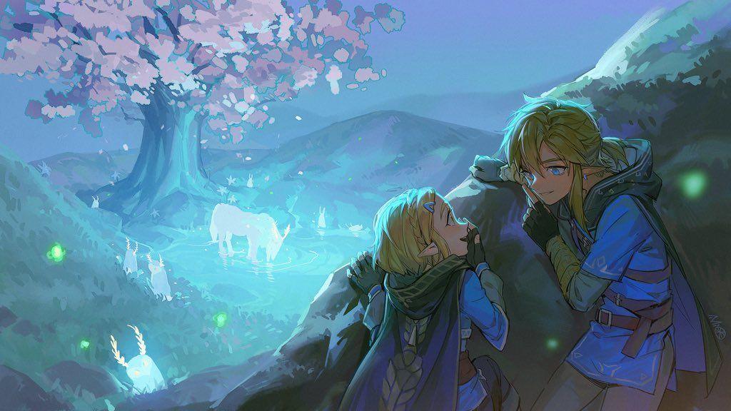 Alzi米 On Twitter Legend Of Zelda Legend Of Zelda Breath Zelda Art