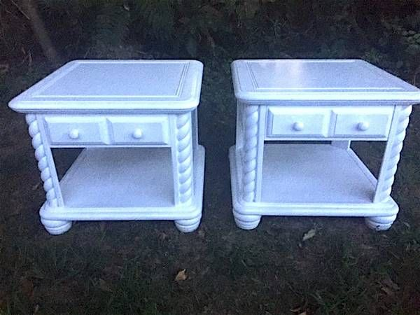 Each End Table Has A Great Top Surface Area And Comes With A