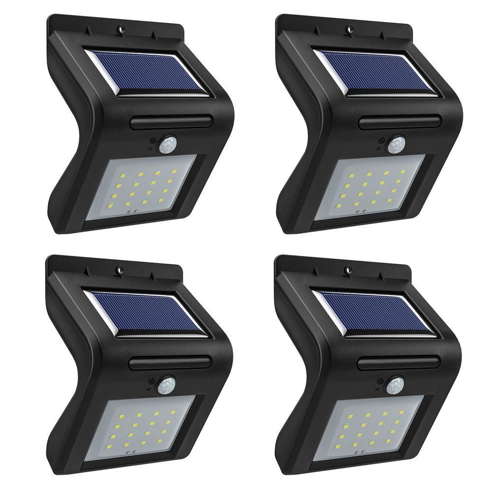 16 Led Solar Lights Waterproof Solar Motion Sensor Lights Outdoor Security Light Longwan Modern Solar Motion Lights Solar Led Lights Motion Sensor Lights