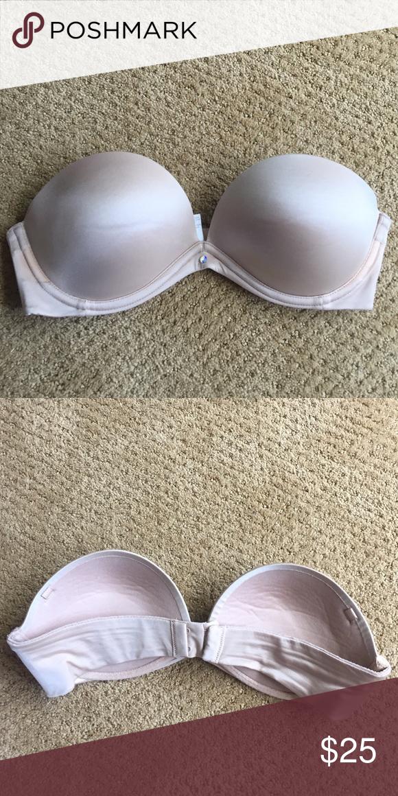 369e2be5d7 Victoria Secret strapless Nude Bra Victoria Secret Nude Strapless Bra.  Slight push up. Great condition. Victoria s Secret Intimates   Sleepwear  Bras