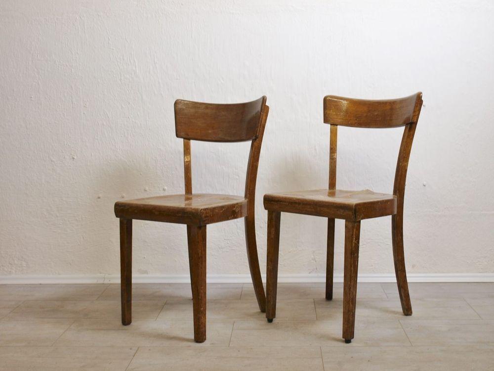 2 Stuhle Frankfurter Kuchenstuhl Stuhl Bauhaus Gropius Ara Shabby