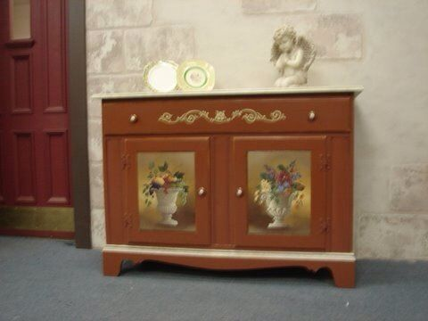 Found this buffet/sideboard for a song with door falling off and paint in awful & Found this buffet/sideboard for a song with door falling off and ...